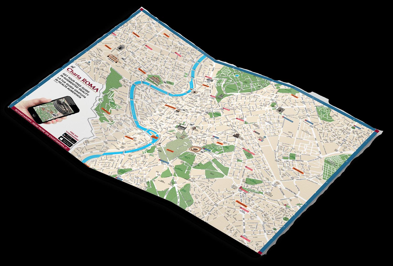 Charta Roma - Mappa di Roma per operatori turistici